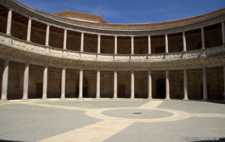 PALACIO DE CARLOS V, LA ALHAMBRA DE GRANADA