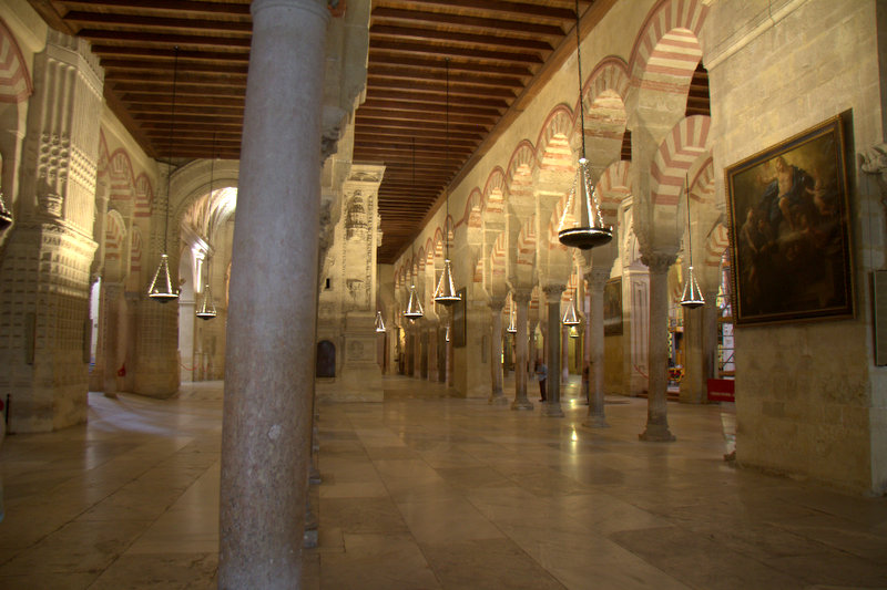 Mg 0211 interior de la mezquita de cordoba trotaburgos for Interior mezquita de cordoba