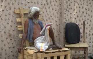 HOMBRE EN CHENNAI