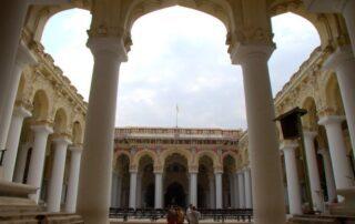 PALACIO DE THIRUMALAI NAYAKAR MAHAL EN MADURAI