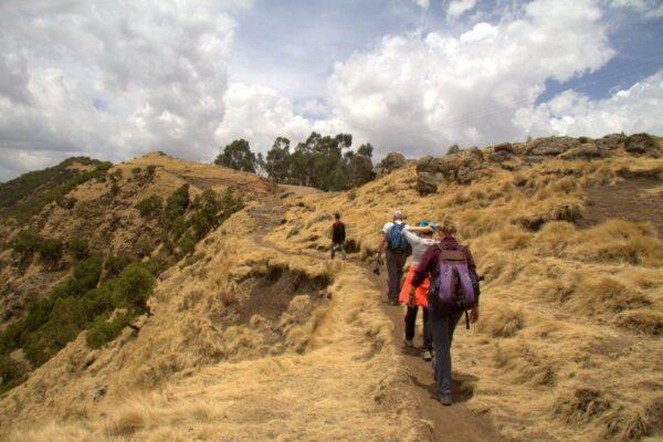 TREKKING POR LAS SIMIEN MOUNTAINS